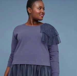 Blue Tunic Sweater Dress